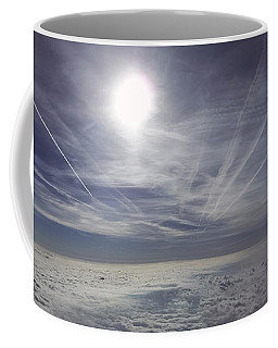 Contrail Panorama Coffee Mug