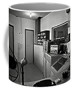 Control Room In Alcatraz Prison Coffee Mug