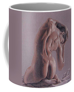 Coffee Mug featuring the painting Convergence   by Joseph Ogle