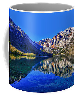 Coffee Mug featuring the photograph Convict Lake Reflections by Beth Sargent