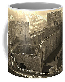 Conwy Castle Coffee Mug by Richard Brookes