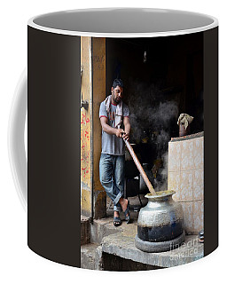 Cooking Breakfast Early Morning Lahore Pakistan Coffee Mug