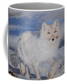 Cool Fox Coffee Mug by Francine Heykoop