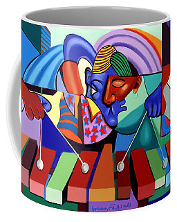 Coffee Mug featuring the painting Cool Vibes by Anthony Falbo