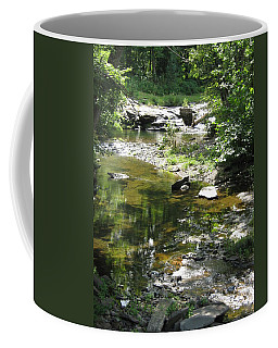Coffee Mug featuring the photograph Cool Waters by Ellen Levinson