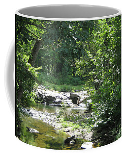 Coffee Mug featuring the photograph Cool Waters II by Ellen Levinson