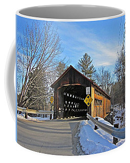 Coombs Covered Bridge Coffee Mug by MTBobbins Photography