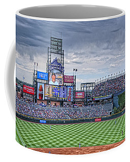 Coors Field Coffee Mug by Ron White
