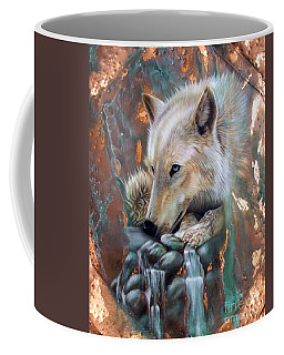 Arctic Wolf Coffee Mugs