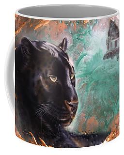 Copper Jaguar Coffee Mug