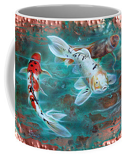 Copper Koi Coffee Mug