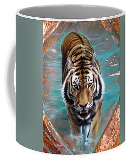 Copper Tiger 3 Coffee Mug