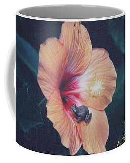 Coffee Mug featuring the photograph Coqui  by The Art of Alice Terrill