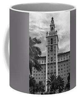 Coral Gables Biltmore Hotel In Black And White Coffee Mug