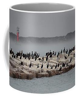 Cormorant Island Coffee Mug by Debra Martz