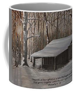 Corn Crib - Proverbs  Coffee Mug