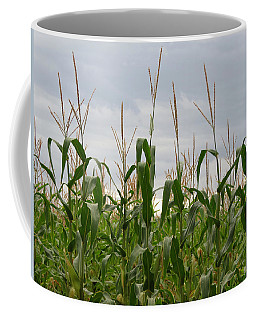 Coffee Mug featuring the photograph Corn Field by Laurel Powell