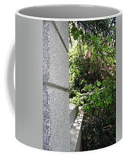 Corner Garden Coffee Mug by David Trotter