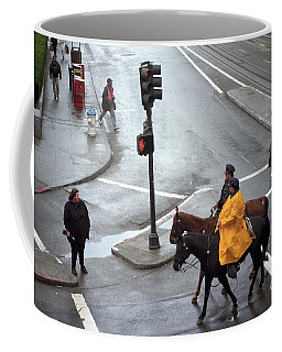 Corner Of Post And Powell Coffee Mug