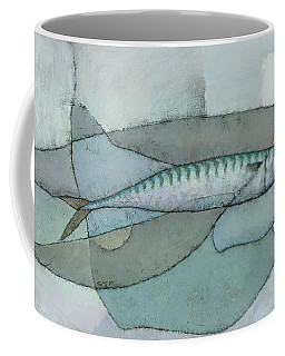Cornish Mackerel Coffee Mug by Steve Mitchell