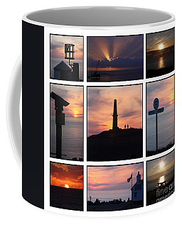 Coffee Mug featuring the photograph Cornish Sunsets by Terri Waters
