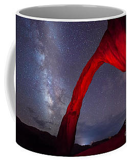 Corona Arch Milk Way Red Light Coffee Mug