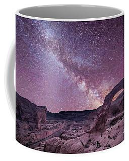 Corona Arch Milky Way Coffee Mug by Michael Ver Sprill