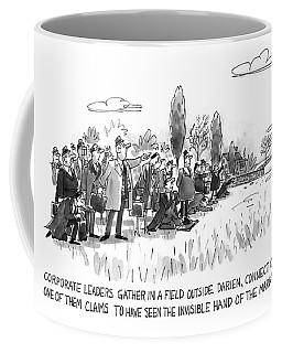 Corporate Leaders Gather In A Field Coffee Mug