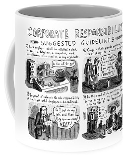 Corporate Responsibility Suggested Guidelines Coffee Mug