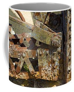 Corroded Steel Coffee Mug