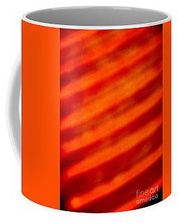Corrugated Orange Coffee Mug