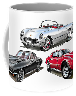 Corvette Generation Coffee Mug