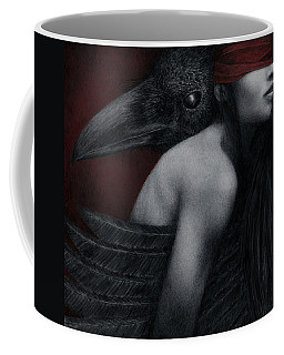 Corvidae Coffee Mug by Pat Erickson