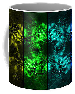 Cosmic Alien Eyes Pride Coffee Mug
