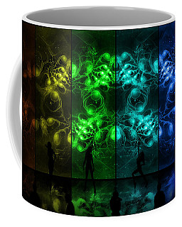 Cosmic Alien Vixens Pride Coffee Mug