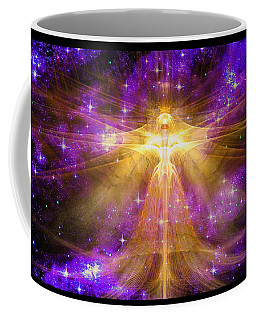 Cosmic Angel Coffee Mug