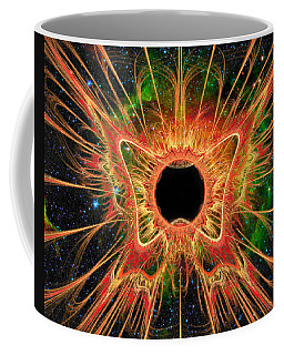 Cosmic Butterfly Phoenix Coffee Mug