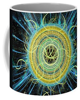 Cosmic Circle Fusion Coffee Mug