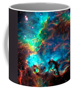 Cosmic Cradle 2 Star Cluster Ngc 2074 Coffee Mug by Jennifer Rondinelli Reilly - Fine Art Photography