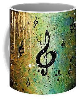 Cosmic Jam Coffee Mug by Carmen Guedez