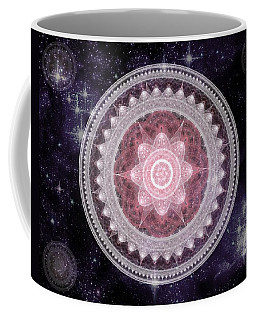 Cosmic Medallions Fire Coffee Mug