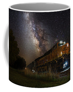 Cosmic Railroad Coffee Mug