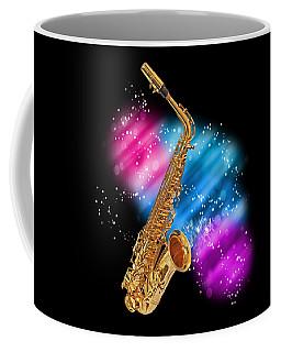 Cosmic Sax Coffee Mug