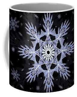 Cosmic Snowflakes Coffee Mug