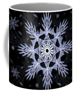 Cosmic Snowflakes Coffee Mug
