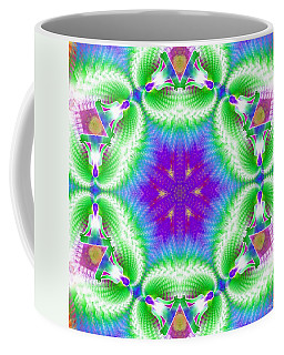 Cosmic Spiral Kaleidoscope 10 Coffee Mug