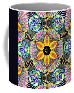 Cosmic Spiral Kaleidoscope 13 Coffee Mug