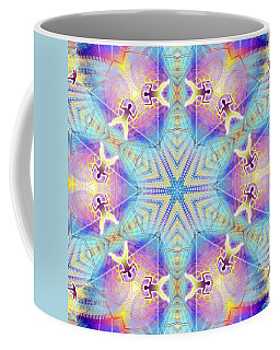 Cosmic Spiral Kaleidoscope 17 Coffee Mug