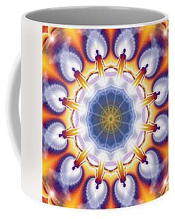 Cosmic Spiral Kaleidoscope 34 Coffee Mug