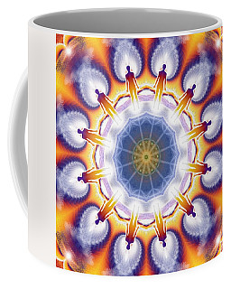 Cosmic Spiral Kaleidoscope 34 Coffee Mug